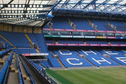 Home of Chelsea FC: Stamford Bridge