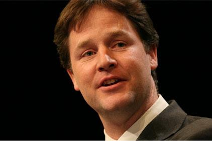 Crucial speech: Nick Clegg