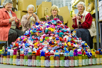 The Big Knit fundraising drive: Age UK