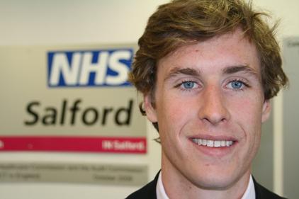 Alex Talbott: joins NHS Salford
