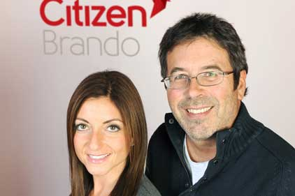Citizen MD Mandy Sharp and chairman Nick Band: welcoming Cory