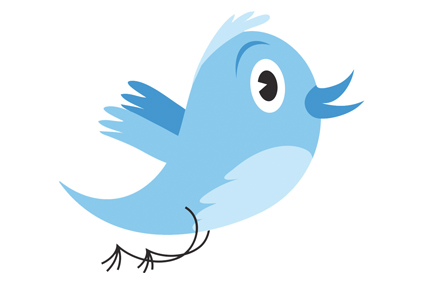 Twitter: used by UK researchers to follow media
