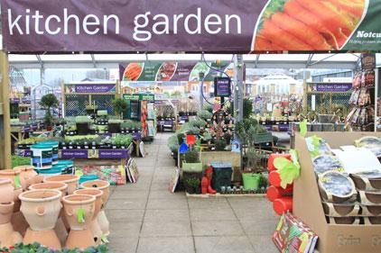 Garden centre chain: Notcutts