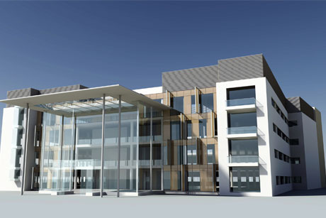 State of the art: An artist's impression of the redevelopment
