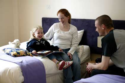 RMHC: free accommodation for young patients' families