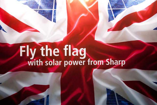 Marketing Communications: Business Award winner: Sharp Solar 'Solar: A Renewable Power That's FIT for Purpose' with Brands2Life