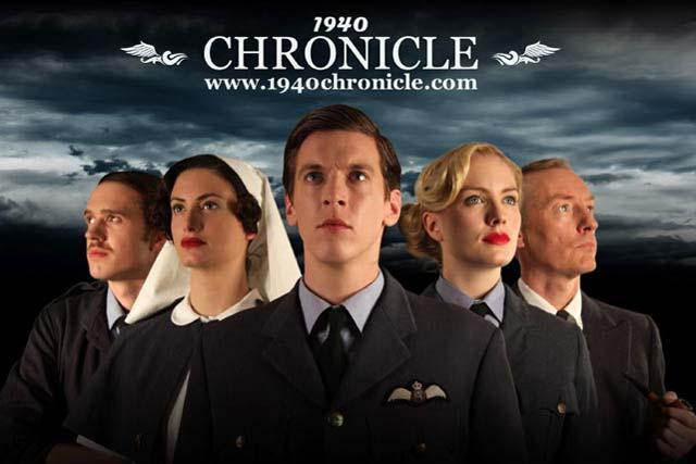 Digital and Social Media Award winner: RAF Benevolent Fund '1940 Chronicle'