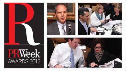 PRWeek Awards Finalists 2012