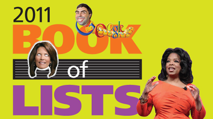 Book of Lists 2011