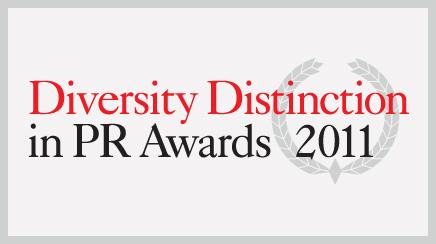 Diversity Distinction in PR Awards 2011