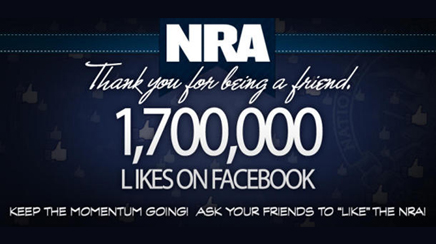NRA Facebook and Twitter blackout: smart crisis comms or social media fail?