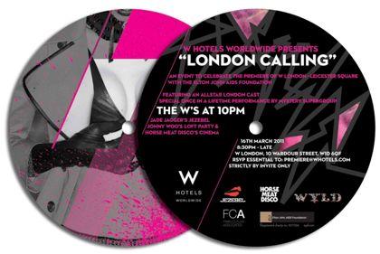 The W factor wows London, John Doe Communications