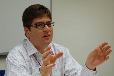 Digital guru: Nick Jones heads to Visa