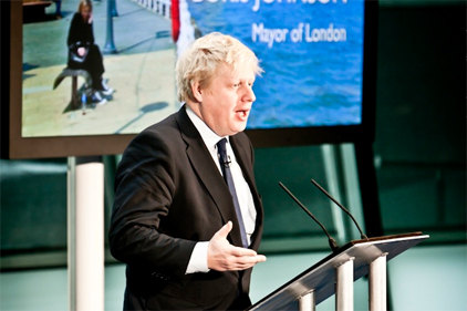 Boris Johnson: attended launch event
