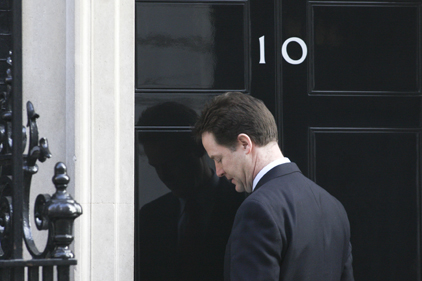 Clegg: 'In today's politics, all are welcome.' (Rex)