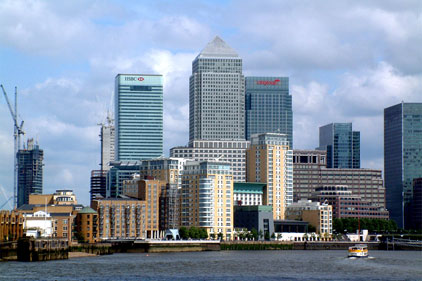 Canary Wharf: The Communication Group will promote Thames Gateway