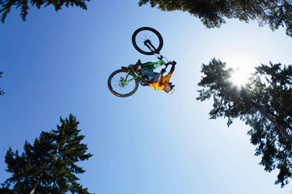 Sporting focus: includes BMX riding