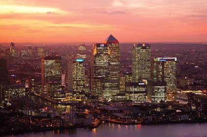 Canary Wharf: aims to double its working population by 2031