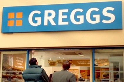 High street bakery: Greggs