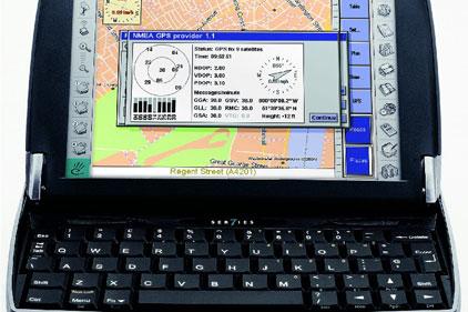 Mobile computing technology: Psion