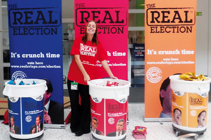 Voting - The SPA Way/Link communications - Real Crisps gets political