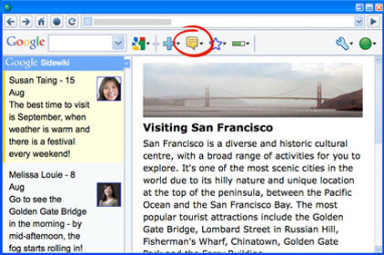 Google's controversial feature: Sidewiki