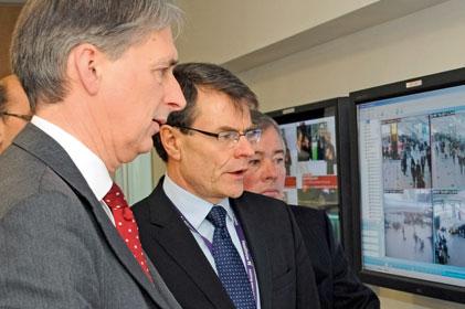 BAA: CEO Colin Matthews with transport secretary Philip Hammond