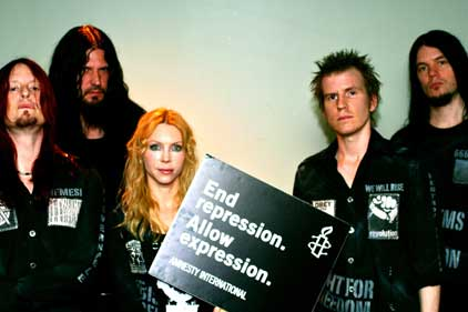 Arch Enemy: to promote freedom of expression