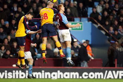 Football sponsorship: Aston Villa