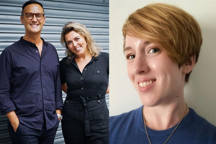 (L-R) Ed Green, Alex Bell and Jo Bromilow have all joined Golin in senior roles