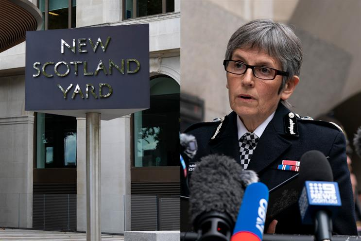 Dame Cressida Dick, Metropolitan Police Commissioner, addresses the media following the sentencing of Wayne Couzens (Getty Images)