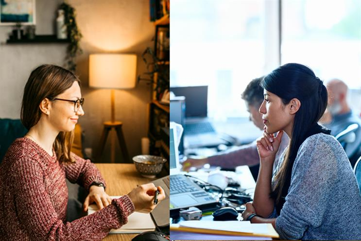 Corporate comms professionals want a blend of home- and office-based working