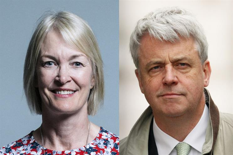 Margot James (L), former digital minister, and ex-health secretary Lord Lansley (R) have criticised the Government's approach to comms