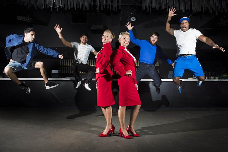Cake's recent work for Virgin Atlantic contributed to Havas' new business performance