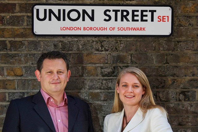 Branching out: Octopus' Jon Lonsdale and Juliet Cameron