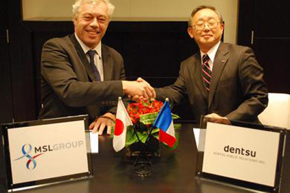 Alliance: MSLGroup and Dentsu Public Relations