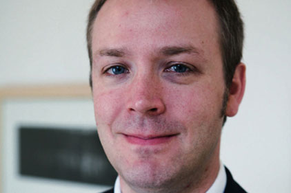 Jeremy Clark: leaving Huntsworth