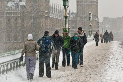 'Ridiculous scaremongering': AA snow press release