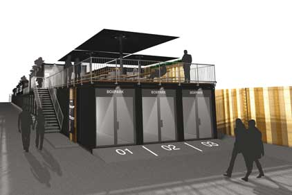 Boxpark: opens in December in Shoreditch