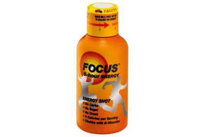 Energy drink: Focus