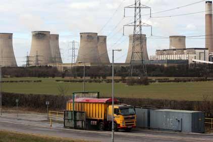 E.On power station: Ratcliffe-on-Soar