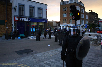 Met Police: dissuasion comms strategy
