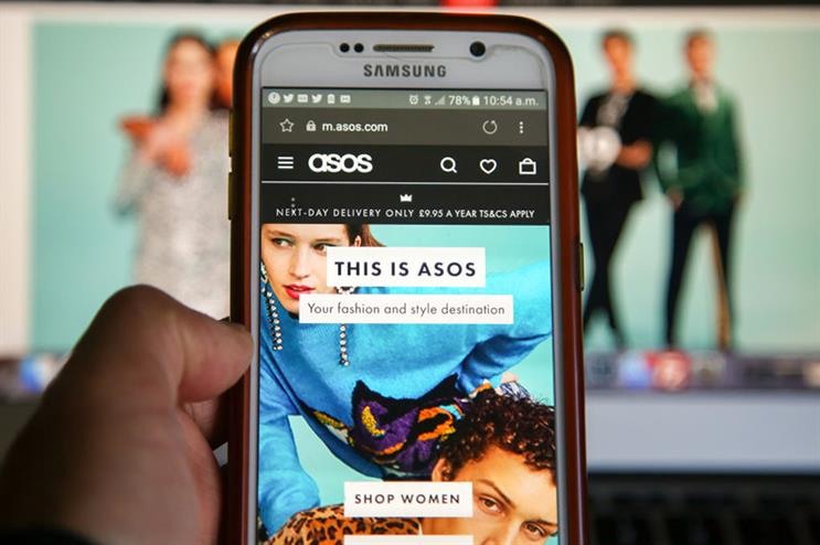 Asos: brand was criticised for its behaviour at beginning of pandemic