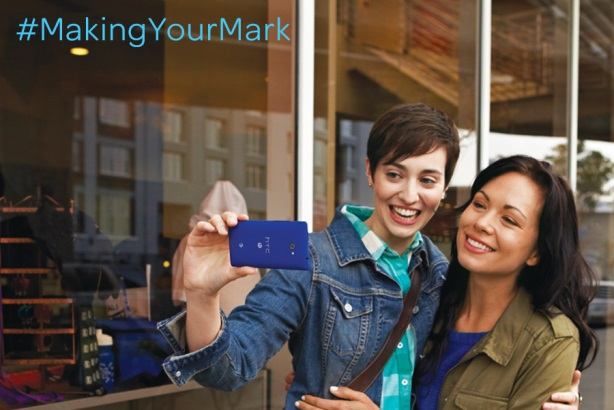 AT&T's #MakingYourMark campaign