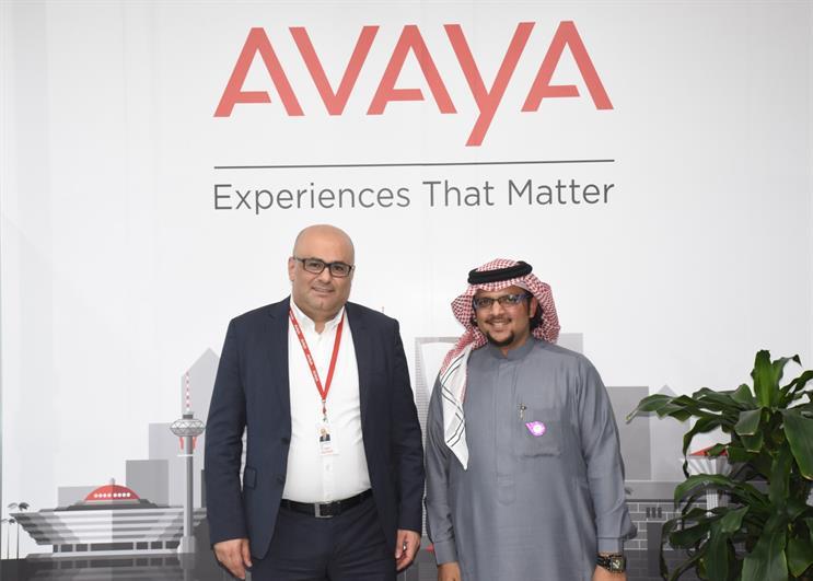 L-R: Zouheir Diab, managing director of Avaya Saudi Arabia, and Abdullah Inayat, co-founder of W7Worldwide