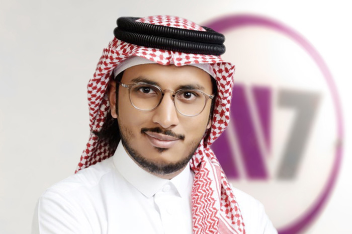 Abdulrahman Inayat, co-founder and director of Saudi's W7Worldwide PR firm
