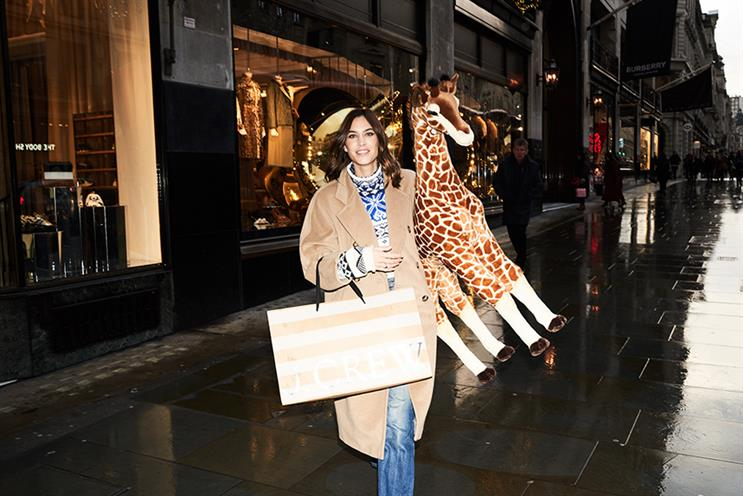 Alexa Chung fronts the campaign for Regent Street