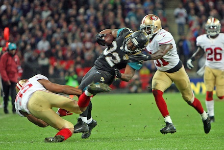 American football: the UK's Wembley stadium has staged a number of NFL games