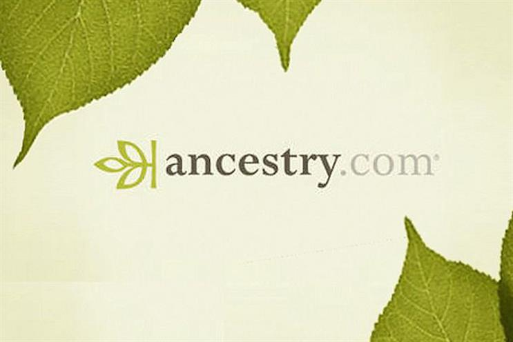 Ancestry appoints consumer comms agency
