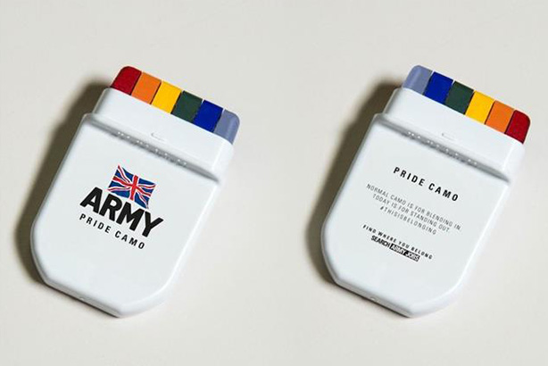 British Army: among brands praised for Pride marketing